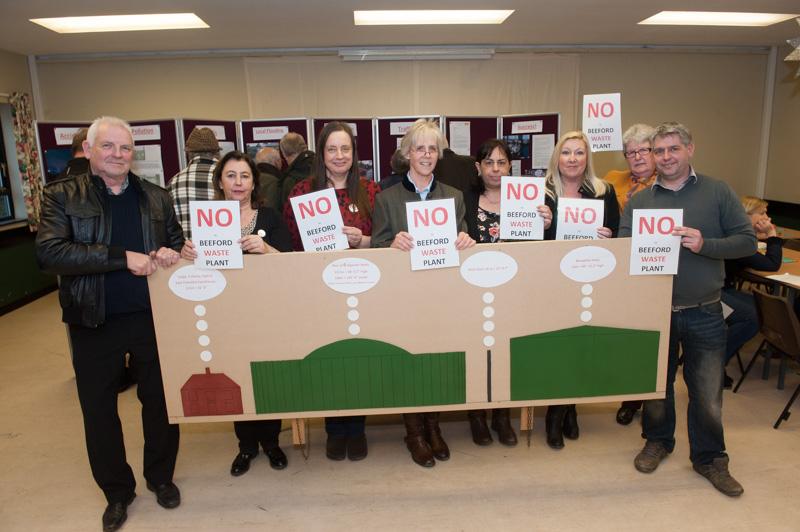 Beeford Village Waste Plant objectors