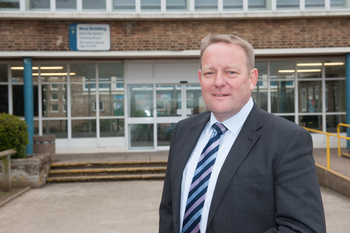 Dave McCready who has been appointed as interim executive headteacher until the end of the summer term.
