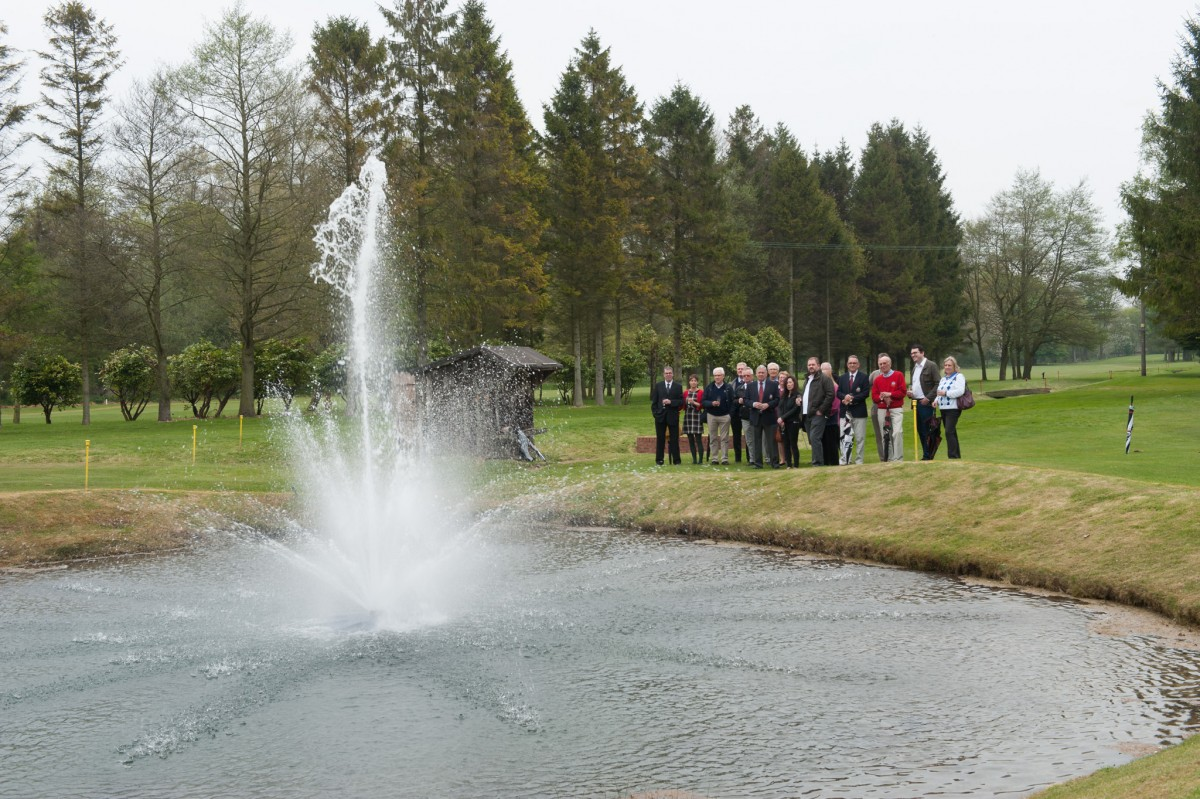 A commemorative fountain was officially unveiled at Driffield Golf Club last week to honour the wishes of a former long-serving club member Henry Fowler.