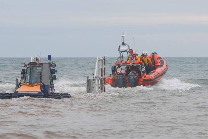 The RNLI's Flamborough Lifeboat - The B Class 'Elizabeth Jane Palmer'