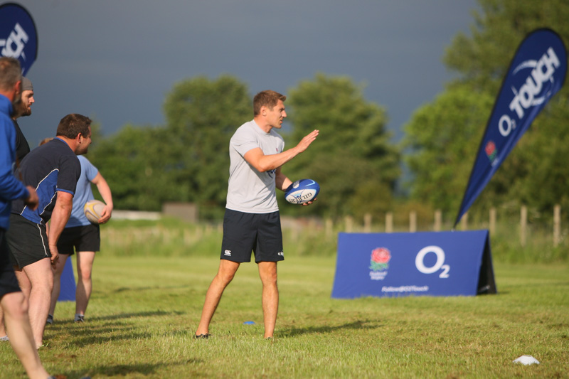 Driffield RUFC O2 Touch Rugby training