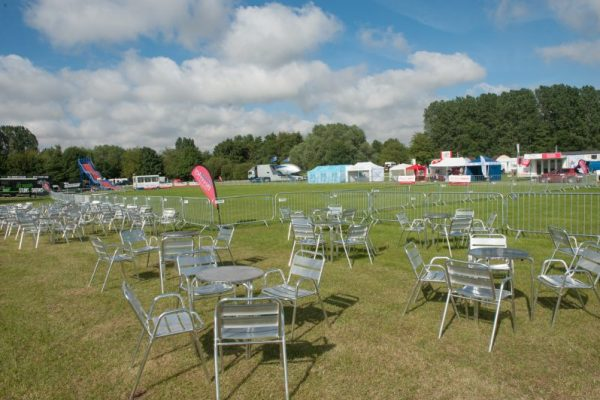 Final touches as the stage is set for the 142nd annual Driffield Show